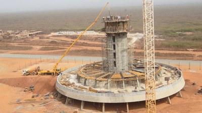Dakarreko Nazioarteko Aireportuko kontrol dorrea, Senegal