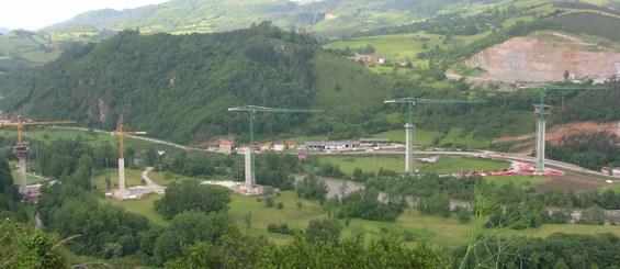 Narceako Biaduktua, Asturias, Espainia