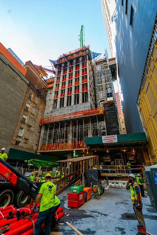 130 William dorrearen eraikinak Manhattaneko hiri paisaia birdefinituko du