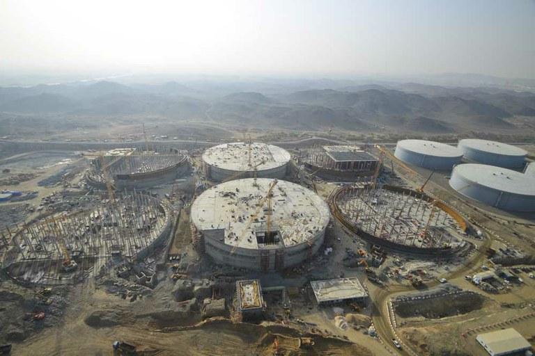 Briman proiektua Jeddah-en, Saudi Arabian
