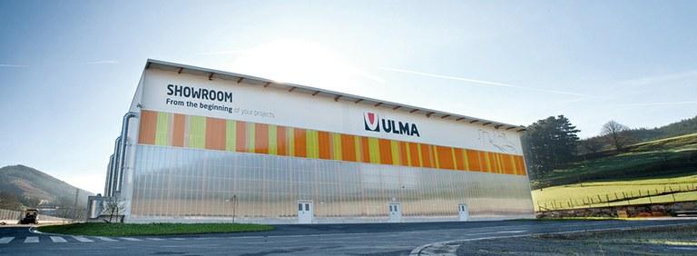 ULMA Constructionen  Showroom-a, egoitza zentralean