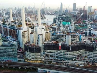 Geometria bereziak Londreseko erdigunean