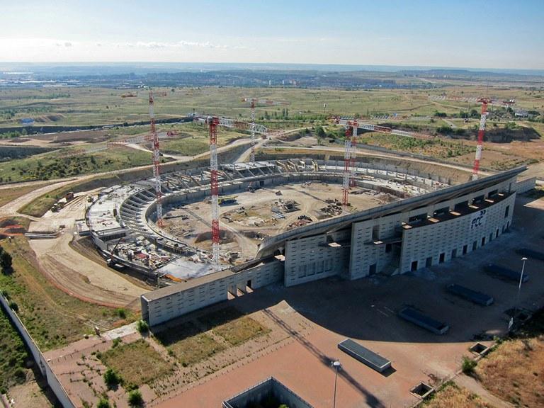 Madrileko Wanda Metropolitano estadio inauguratu berrian parte hartu du  ULMAk