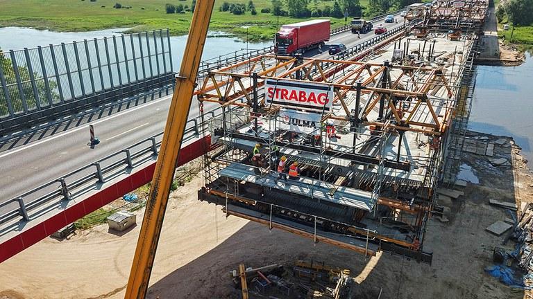 Malgutasuna eta segurtasuna CVS Aitzinamenduko Orgarekin, Poloniako MS-4B zubiaren eraikuntzan