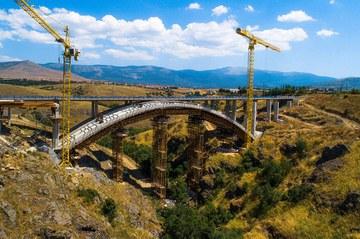 Segovian Eresmako arku zubia eraikitzeko proiektuaren partaidea da ULMA