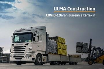 ULMA Constructionen COVID-19 Kontingentzia Plana aplikatzen ari gara