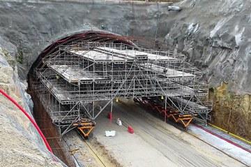 ULMA soluzioak Iberiar Penintsulako tunelik zabalenean